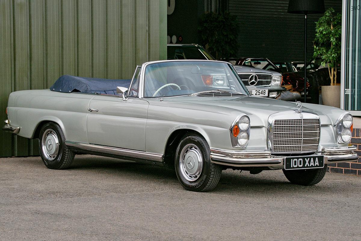 Mercedes-Benz 280SE 3.5 Cabriolet W111