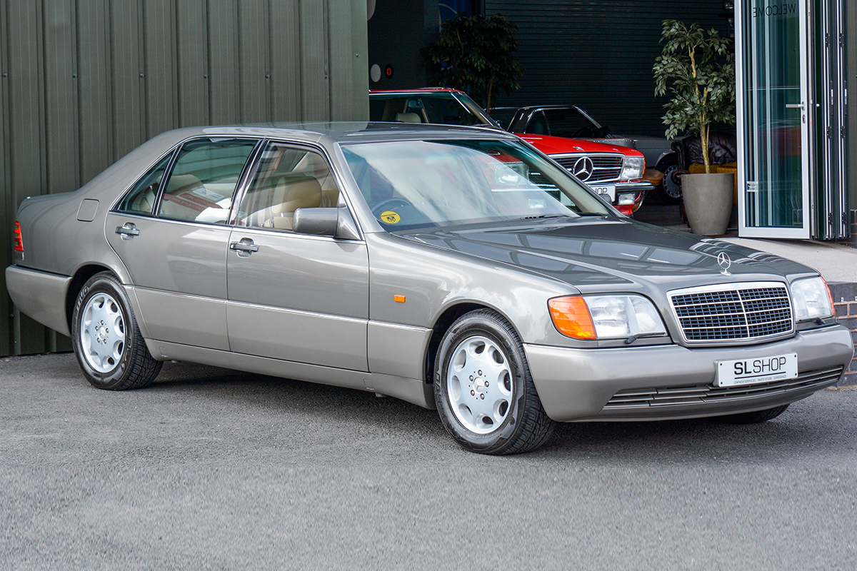 1993 Mercedes Benz 500sel S Class W140 1911 Anthracite Grey With Mushroom Leather The Slshop