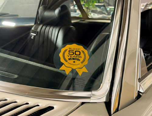 Limited Edition 50th Anniversary Window Sticker