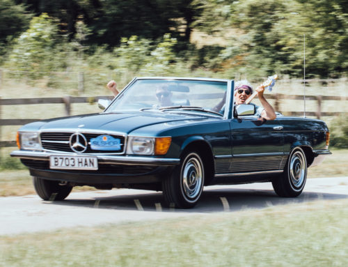 Motoring Journalist, Russ Smith on the Mercedes-Benz 107 SL