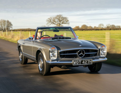 Driving the Best Mercedes Pagoda Restored by SLSHOP