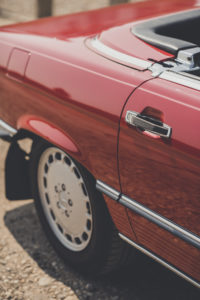 Door Line of the 300SL Classic Sports Car