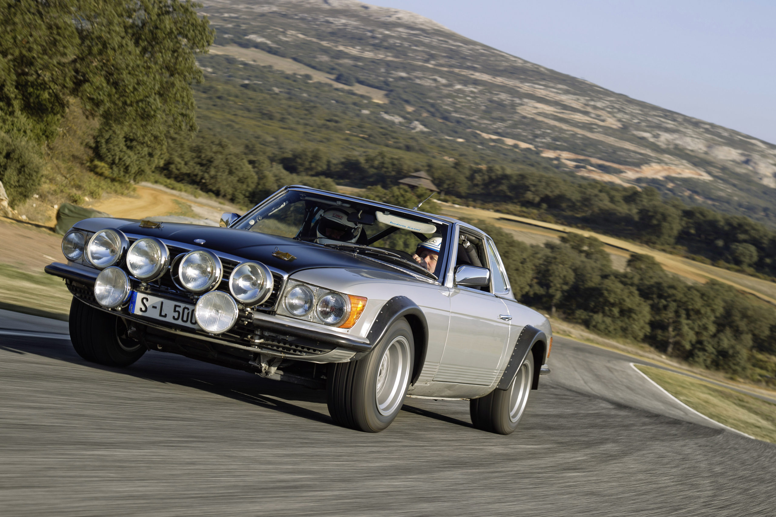 500SL Rally Car built for the 60th Anniversary of the Mercedes-Benz SL in 2012