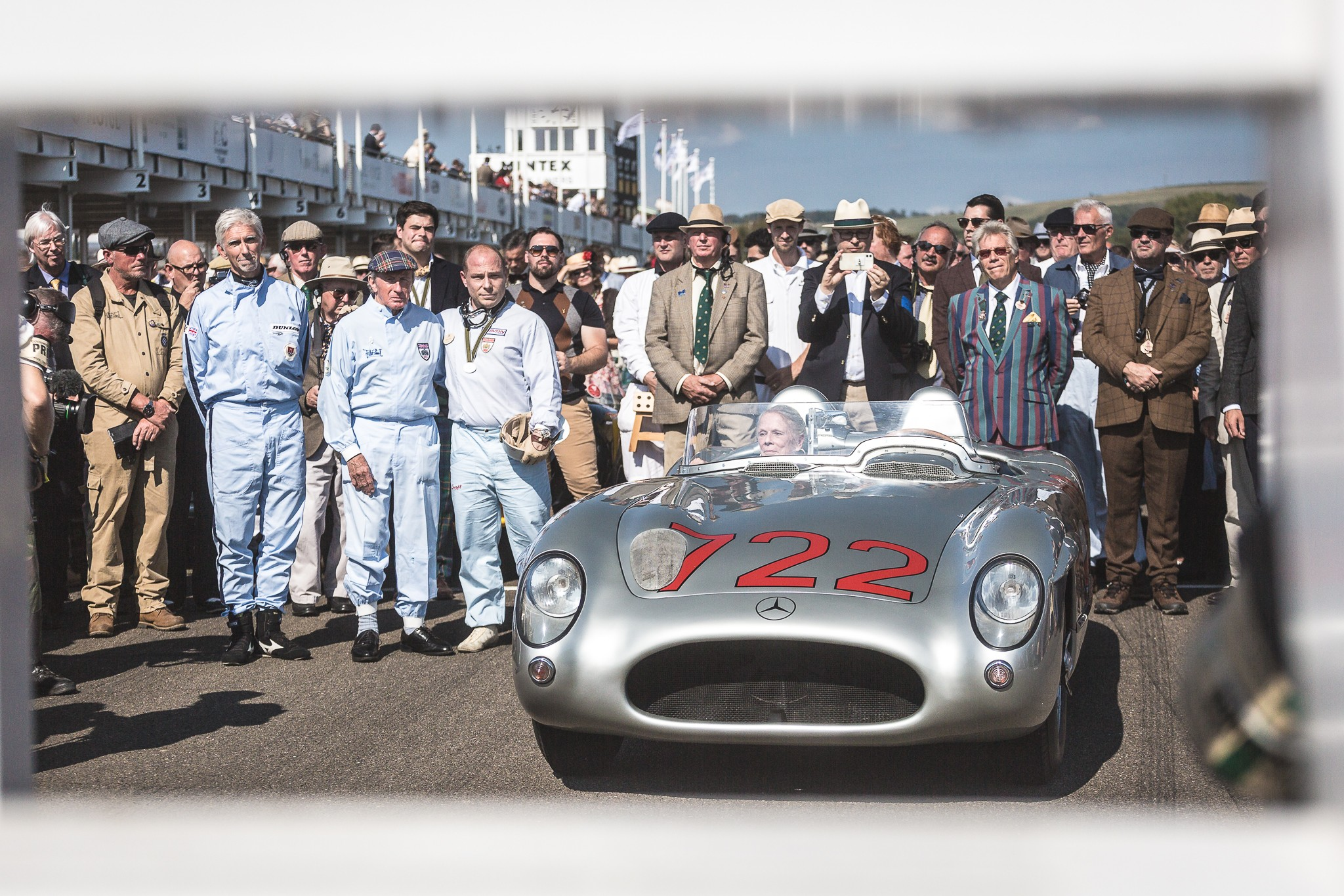 Sir Stirling Moss and his 300SLR